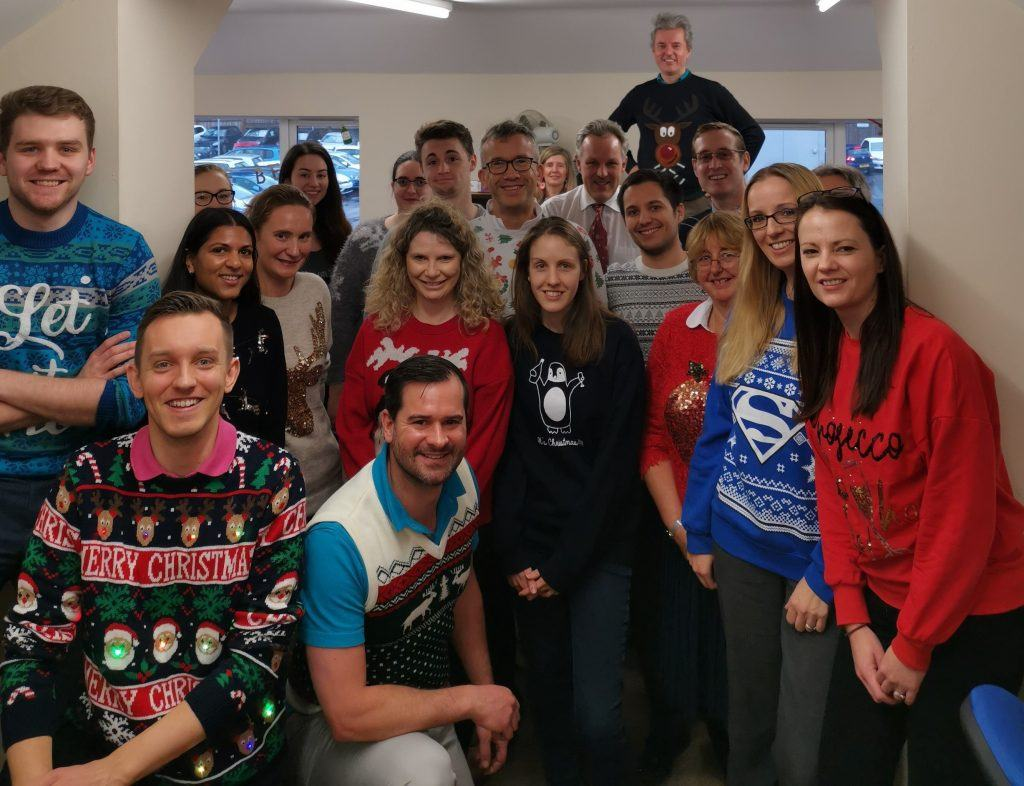 Stewart & Co Christmas Jumper Day